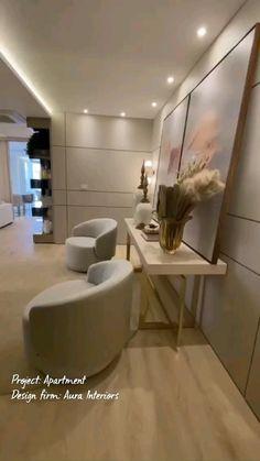 Interior Ceiling Design, Apartment Interior Design, Luxury Interior Design, Modern Interior, Interior Architecture, Kitchen Cabinet Design, Modern Kitchen Design, House Roof Design, Drawing Room Interior
