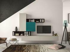 Scarica il catalogo e richiedi prezzi di Slim 101 By dall'agnese, parete attrezzata componibile design Imago Design, Collezione slim