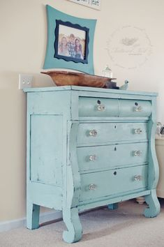 the MomTog diaries: The Painted Empire Dresser: A Before & After Reveal