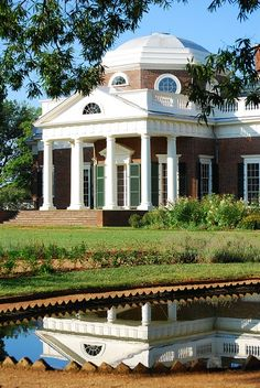 Thomas Jefferson's Monticello in Virginia...