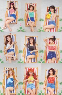 Twice 2018 Summer Comeback 'Summer Nights' Nayeon, J Pop, Kpop Girl Groups, Korean Girl Groups, Kpop Girls, Twice Photoshoot, Twice Group, Twice Fanart, Twice Album