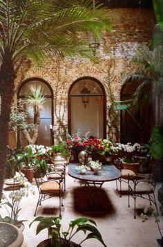 Rose Uniacke's Courtyard.