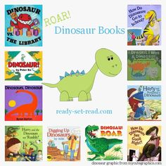 Best picture books for exploring a dinosaur theme in preschool.