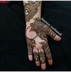 Simple and Stunning Mehndi Design for Every Occassion, Unique Pieace of Mehndi Design that increase your Hand Beauty - Fashion Rose Mehndi Designs, Khafif Mehndi Design, Henna Art Designs, Mehndi Designs For Girls, Modern Mehndi Designs, Mehndi Design Pictures, Wedding Mehndi Designs, Mehndi Designs For Fingers, Latest Mehndi Designs