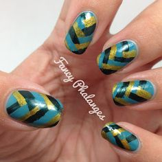 Fancy Phalanges: Teal Tuesday: Braided Mani