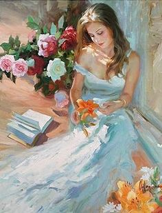 The Light in hair and across the shoulder !Vladimir Volegov