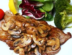 The Best Food I Ever Ate: Veal Scallopini With Mushroom Marsala Sauce