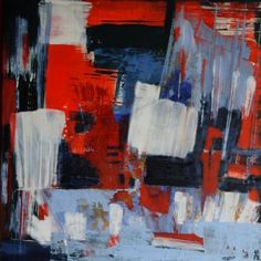 Beautiful red abstract painting by Michelle Hold. Abstract Expressionism, Abstract Art, Original Artwork, Original Paintings, Art Of Love, Bedroom Art, Affordable Art, The Dreamers, Buy Art