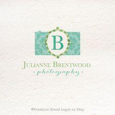 Brocade Camera Premade Customizable logo by KreativeBrand on Etsy, $16.95