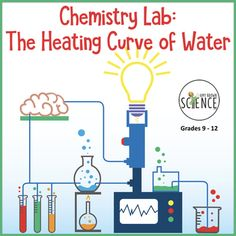 Heating and Cooling Curves Worksheet Lovely Chemistry Lab the Heating Curve Of Water by Amy Brown Quizzes And Answers, Sentence Fragments, Adjective Worksheet, Chemistry Labs, Teacher Boards, Physical Science, Worksheets For Kids, Heating And Cooling, Curriculum