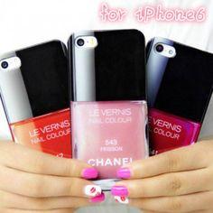 シャネルiphone6 ケース ネイルブランド スマホカバー アイフォン6保護ケース  #chanel #nail #iphonecase #6case #cute #girl #beauty #fashion