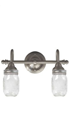 Bathroom Lights Etsy mason jar light vintage pint bathroom wall sconce - flush mount
