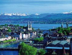 Zurich, Switzerland....been there..would love to go again!
