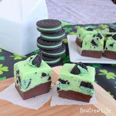 Inside BruCrew Life: Mint Chocolate Cookies N Cream Fudge - SRC