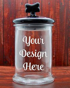 Custom Dog Treat Jar