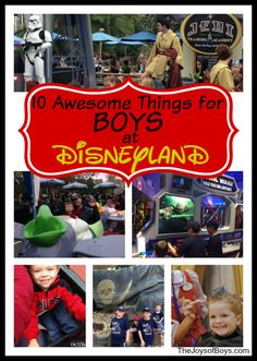 10 Awesome Things for Boys at Disneyland - The Joys of Boys
