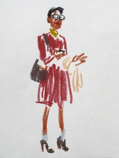 snap sketches of NYFW
