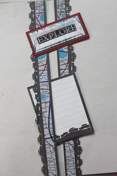 Here is a similar theme using the maps sticker from the great lengths sticker in the GetAway travel sticker pack The vellum is from the Expressions of Travel vellum pack. The border cartridge is from Fiskars Scrapbook Borders, Scrapbook Embellishments, Scrapbook Sketches, Scrapbook Page Layouts, Travel Journal Scrapbook, Vacation Scrapbook, Scrapbook Supplies, Scrapbook Paper, Travel Book Layout