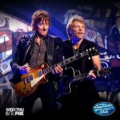 Hey! It's Bon Jovi on Idol!