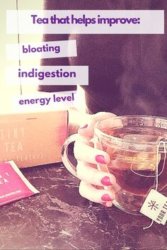 TinyTea by Your Tea helps cure bloating and indigestion.