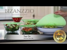 Bizanzzio Top on Flat Silicone Lids - YouTube