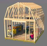 Barn Plans, Barn Shed Plans, Small Barn Plans Build this awesome barn style shed that has a ton of room to make your workshop. Get all your tools out of your already over crowded garage and get started today using these neat barn shed pl Small Barn Plans, Small Barns, Barn Style Shed, Diy Storage Shed Plans, Wood Storage Sheds, Barn Storage, Small Storage, Outdoor Storage, Shed Plans 12x16