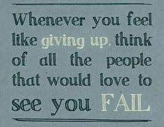 Unfortunately, if some people can't beat you... they rather see you fail.  DON'T!