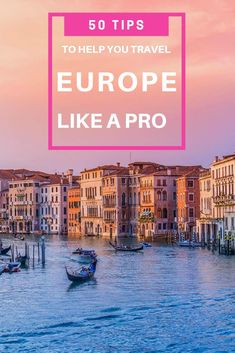 Before you go to leave, be sure to read these 50 essential Europe travel tips that you help you travel Europe like a pro! Europe Travel Tips: 50 Things You… Travel Europe Cheap, Travel Around Europe, Budget Travel, Spain Travel, European Travel, Travel Advice, Travel Guides, Travel Articles, Travel With Kids