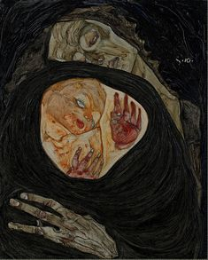 Egon Schiele, Dead Mother I, 1910