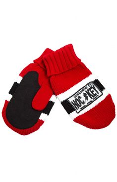 Pro Hockey Life GONGSHOW HOCKEY MITTS - Hockey Mitts made from hockey sock! Great stocking stuffer in your favorite team colours. Pro Hockey, Hockey Mom, Hockey Stuff, Gongshow Hockey, Hockey Cakes, Hockey Bedroom, Hockey Socks, Hockey Tournaments, Hockey Party