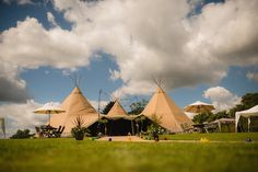 Alex and Tom's Food loving Tipi Wedding. By Kyle Hassall Photography