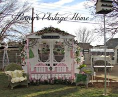 Penny's Vintage Home: We Built a Greenhouse