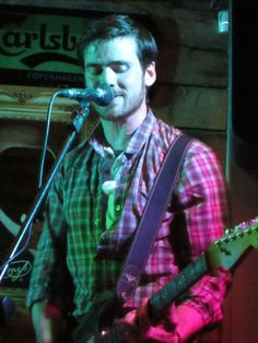 THE ENEMIES AND COLIN O'DONOGHUE PERFORMING AT WM CAIRNES IN DROGHEDA - APRIL 17, 2015