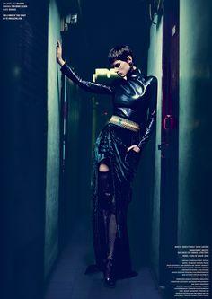 ☆ Saskia de Brauw | Photography by Nathaniel Goldberg | For V Magazine | Fall 2012
