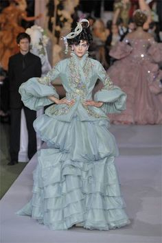 Christian Dior Fall 2007 Couture Collection Photos - Vogue