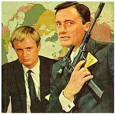 The Man From U.N.C.L.E. I had one part but Mike R. Had the whole brief case! I was so jealous