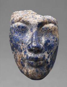 Face of Akhenaten | 18 | Dynasty, the time of Akhenaten, 1372-1355 BC