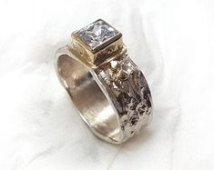 Real jewelry for real people: handmade & by IlanAmirJewelry Valentine's Day Rings, Sterling Silver Wedding Rings, Hand Engraving, Beautiful Rings, Rings For Men, Engagement Rings, Real People, Texture, Band