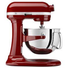 KitchenAid KP26M1XGC Gloss Cinnamon 6-quart Pro 600 Bowl-Lift Stand Mixer (Gloss cinnamon), Red (Metal)