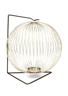 Doodles Hudson Lantern Mini Hudson Lantern; Could be hung individually or connected end to end; Use caution when hanging and touching your lantern; Spiral design with hooked on stand; For indoor use only Home #HomeAccessories