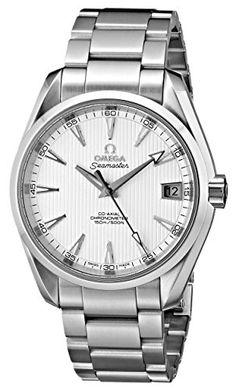 ec0e405dd9ac78 Omega Men's 231.10.39.21.02.001 Seamaster Aqua Terra Stainless Steel Watch Seamaster  Aqua Terra