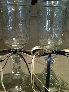 love these redneck style wine glasses :)