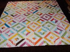 love this quilt done with a jelly roll... there's a video tute on Missouri quilt co.
