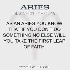 Fact about Aries: As an Aries you know that if you don't do something no... #aries, #ariesfact, #zodiac. More info here: https://www.horozo.com/blog/as-an-aries-you-know-that-if-you-dont-do-something-no/ Astrology dating site: https://www.horozo.com