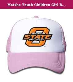 Matthe Youth Children Girl Boy Kids Geek Printed Pattern Oklahoma State University OSU Cowboys Logo Unisex Half Mesh Adjustable Baseball Cap Hat Snapback Pink. The Cap Is Poly Foam Trucker Hat With Screen Print At Front Panel,you Can Find Sun Hats That Blocks Sun Rays From Your Face,ears,neck.You Can Browse Our Selection Of Other Options For Everything From Fishing,hiking,and Skiing To Running And Golf.