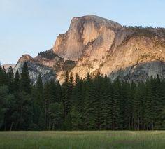 Yosemite National Park - California - USA. Half dome. California National Parks, Yosemite National Park, California Usa, Half Dome, Places To Travel, Utah, Arizona, Mountains, Nature