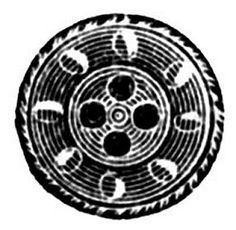 Three diggerent printable button images.