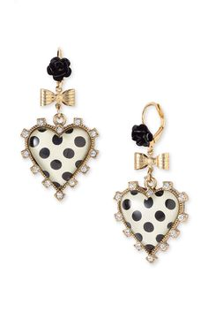 Betsy Johnson...I have the necklace now i just need these!