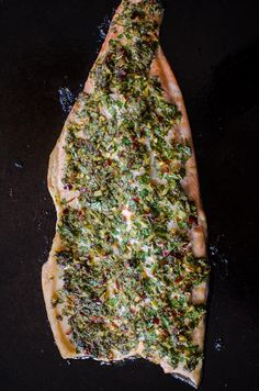 Enjoy a light and bright fish recipe with this simple lemon parsley roasted trout made with olive oil, lemon zest, fresh parsley and chili flakes. Seafood Recipes, Gourmet Recipes, Cooking Recipes, Healthy Recipes, Fish Recipes Trout, Ono Fish Recipe, Parmesan Fish Recipe, Blackened Fish Recipe, Roast Fish