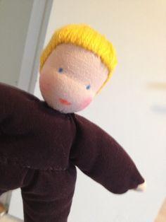 Allereerste Zonnekindpop van Edith's Poppen.  2012